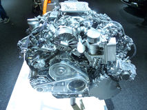 мотор тавра подвергли действию двигателем, котор новый стоковая фотография rf