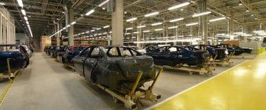 мотор фабрики автомобиля Стоковая Фотография RF