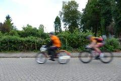 Мотор-шагнутые гонки дороги Стоковое Изображение RF