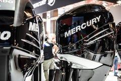 Мотор шлюпки скорости Меркурия стоковое изображение rf