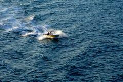 мотор шлюпки Стоковая Фотография