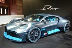 Мотор-шоу 2018 Парижа - Bugatti Divo стоковые фотографии rf