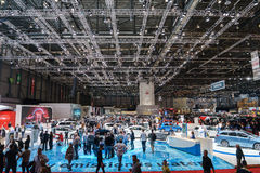 Мотор-шоу Geneve 2015 Стоковое фото RF