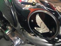 Мотоцикл года сбора винограда Honda стоковые изображения