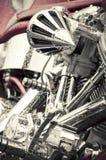мотоцикл крома Стоковое Фото