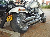 Мотоцикл мотоцилк тяпки superbike Harley Davidson Стоковые Изображения RF