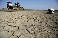 мотоцикл пустыни Стоковые Фотографии RF