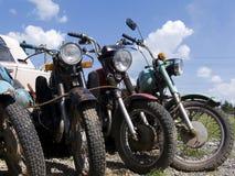 мотоцикл старый Стоковое Изображение RF