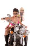 мотоцикл сумасшествия Стоковое Изображение