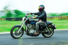 Мотоцикл Harley Davidson стоковое фото