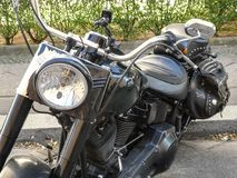 Мотоцикл Harley Davidson стоковое изображение