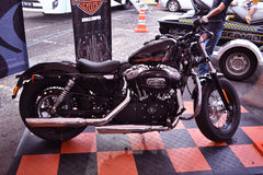 мотоцикл hayley davidson Стоковое Изображение
