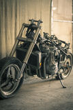 Мотоцикл без крышки Стоковая Фотография