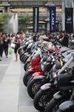 Мотоцикл в мотоцилк 2014 Стоковое Изображение