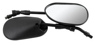 Мотоцикл зеркала заднего вида Стоковое фото RF