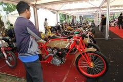 Мотоцикл изменения Стоковые Изображения RF