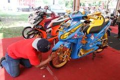 Мотоцикл изменения Стоковое Изображение RF