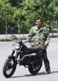 Мотоцикл изменения Стоковые Фото