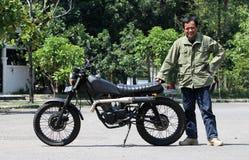 Мотоцикл изменения Стоковое Изображение