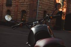 мотоцикл Каф-гонщика Стоковое Изображение