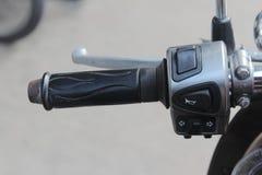 Мотоцикл руки Стоковая Фотография RF