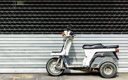 мотоцикл старый Стоковое фото RF