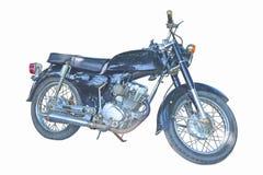 мотоцикл старый Стоковые Фотографии RF