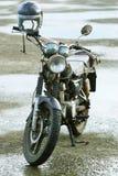 мотоцикл старый стоковая фотография