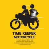 Мотоцикл хранителя времени иллюстрация вектора