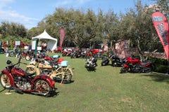 Мотоциклы на дисплее Стоковое Изображение RF