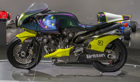 Мотоцикл Britten Стоковое фото RF