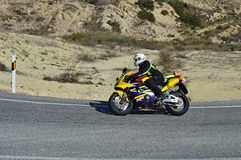 Мотоцикл Honda Fireblade Стоковая Фотография