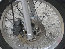 Мотоцикл Whee Стоковое Изображение