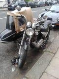 Мотоцилк и sidecar Стоковое Изображение