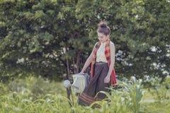 мочить сада Стоковые Изображения RF