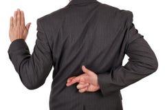 Мошенничество в деловой сфере Стоковые Фото