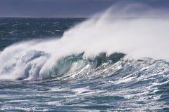 мощные волны Стоковое Фото
