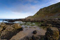 Мощёная дорожка гиганта, Северная Ирландия Стоковая Фотография RF
