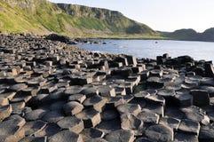 Мощёная дорожка гиганта (Северная Ирландия) Стоковые Фото