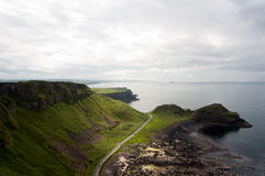 Мощёная дорожка гиганта, северная Ирландия Стоковые Фотографии RF