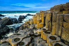 мощёная дорожка гигантская Ирландия северный s Стоковое фото RF