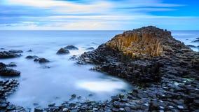 мощёная дорожка гигантская Ирландия северный s Стоковая Фотография RF