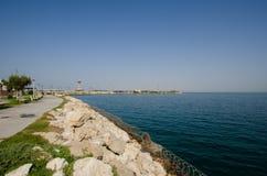 Мощёная дорожка BAH-KSA Стоковое фото RF