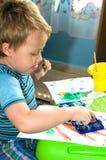 моя акварель красок Стоковые Изображения RF