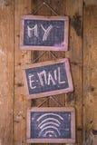 Моя личная электронная почта Стоковое Изображение RF