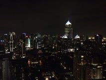 Моя ноча в Бангкоке Стоковые Фото