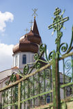 Молдавия, церковь в городе Trusheni Стоковые Фотографии RF
