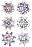 Мода дизайна хны мандалы Стоковое Изображение RF