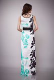 Мода красоты одевает вскользь брюнет модели женщины собрания Стоковая Фотография