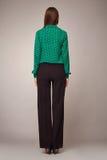 Мода красоты одевает вскользь брюнет модели женщины собрания Стоковые Фото